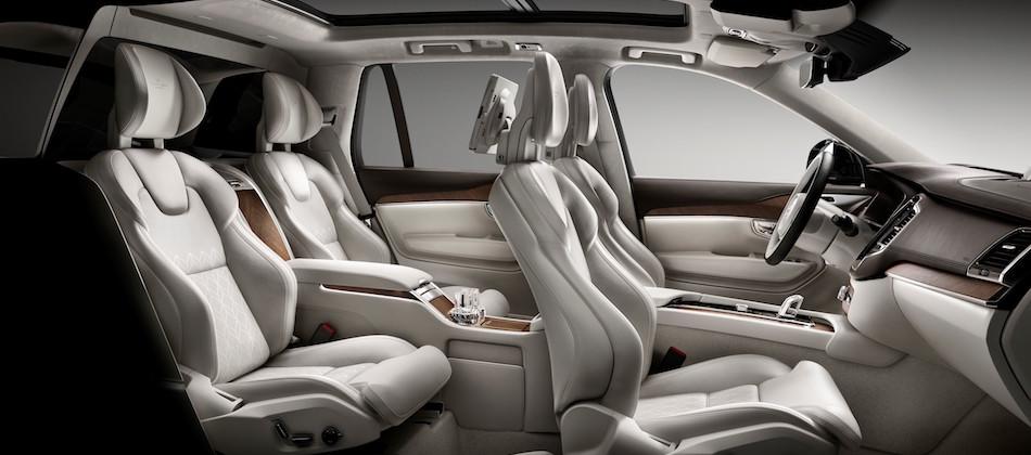 Unterwegs in der First Class: Volvo XC90 Excellence bietet ...