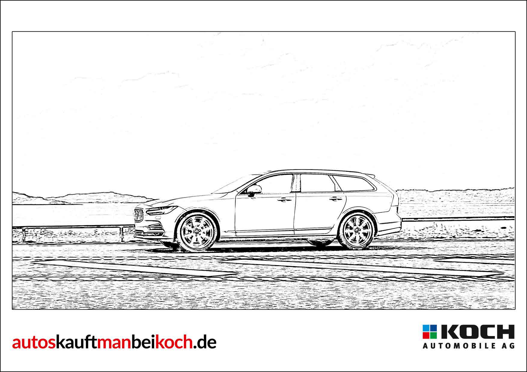 Ausmalbilder Auto Skoda : Malvorlagen Autos Kauft Man Bei Koch Gute Preise Guter Service