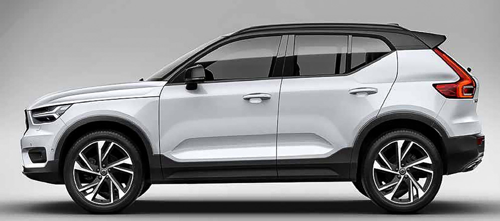 der neue xc40 der smarte urban city suv von volvo. Black Bedroom Furniture Sets. Home Design Ideas