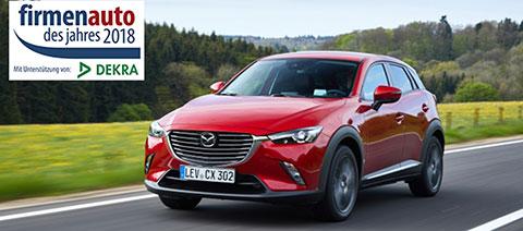 Mazda cx-3 Firmenauto des Jahres
