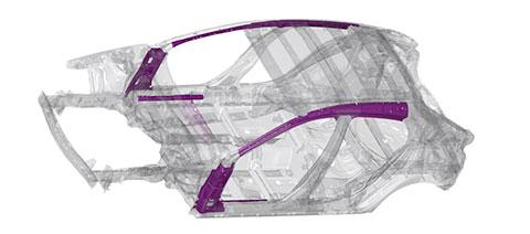 Mazda Karosseriestahl
