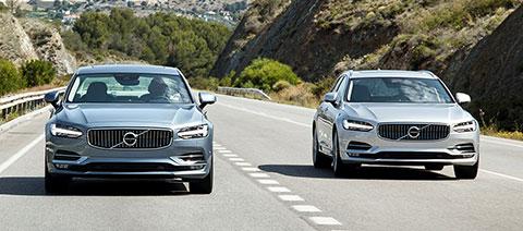 Volvo S90 und Volvo V90