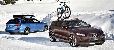 Volvo V60 Cross Country und Volvo V60 R Design zubehoer