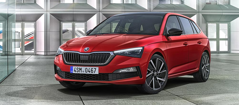 SKODA SCALA Red Dot