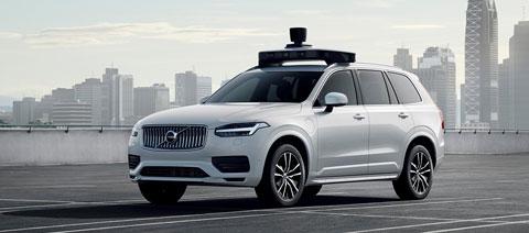 Volvo Uber Auto