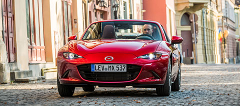 Mazda MX-5 Soul Red Crystal
