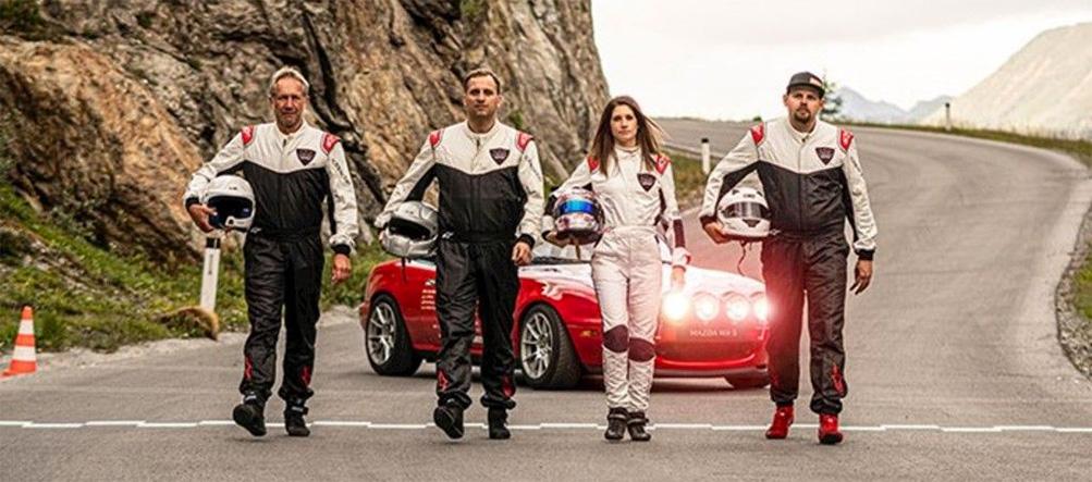 Cyndie Allemann Mazda Kurvenweltrekord