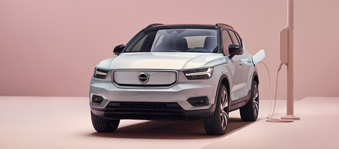 Volvo XC40 Recharge Red Dot