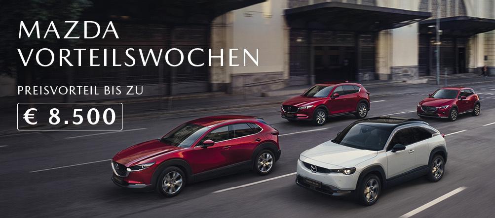 Mazda Vorteilswochen 2021